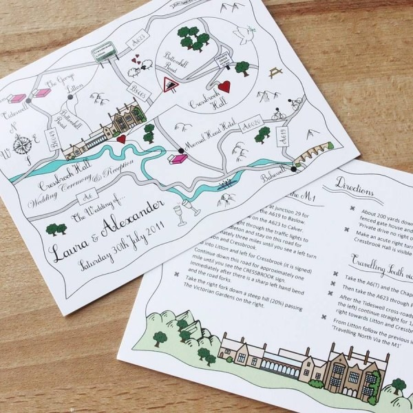 Very Cute And Personal Save The Dates Invitation Inserts