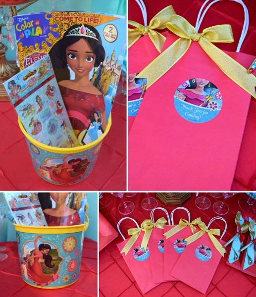 Elena Of Avalor Party Favors