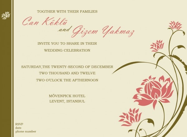 Personable, Economical, Wedding Invitation Design For A Company By