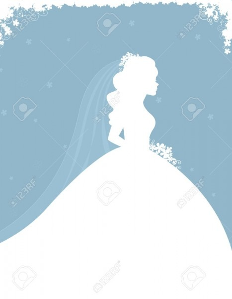 Bridal Shower   Wedding Invitation Card Background With A