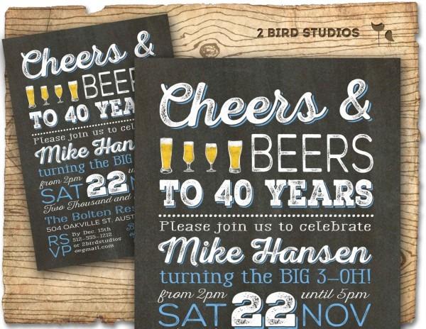 40th Party Invites  40th Birthday Invitations Zazzle  40th