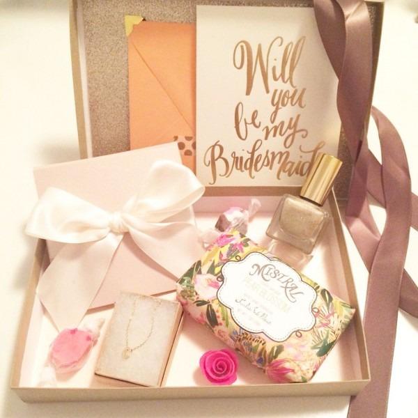 Bridesmaid Box Claudette Marie Events