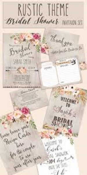 Last Minute Bridal Shower Invitation Wording