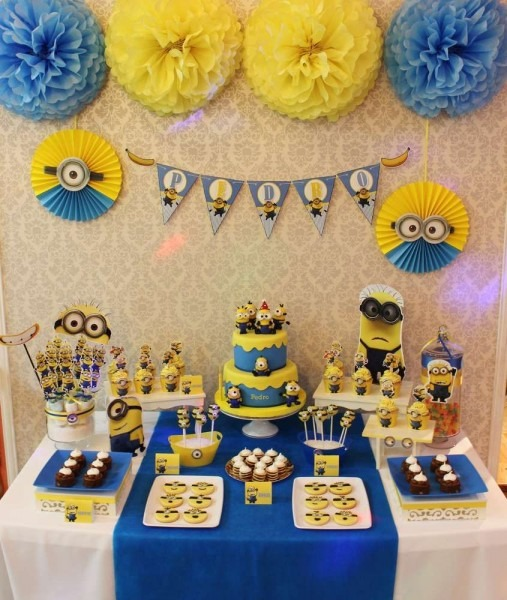 Despicable Me   Minions Birthday Party Ideas