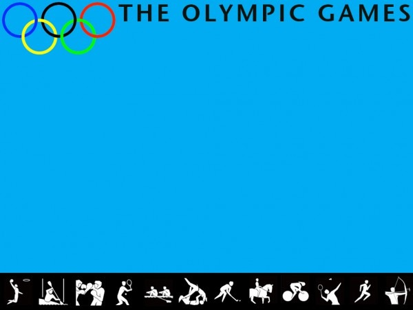 The Olympic Games Powerpoint Template