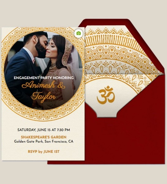 Host An Engagement Party For A Wedding With This Premium (ad