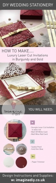 How To Make Your Own Diy Wedding Stationery In 2018