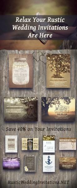 Rustic Wedding Invitations Best Photos