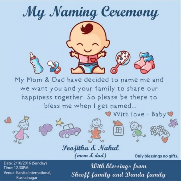 67 Free Baby Naming Ceremony Invitation Card Template Free In Any