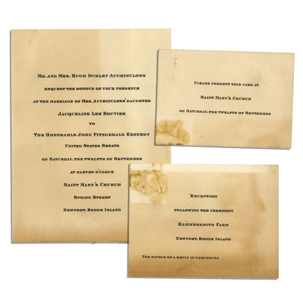 Kennedy Wedding Invitation