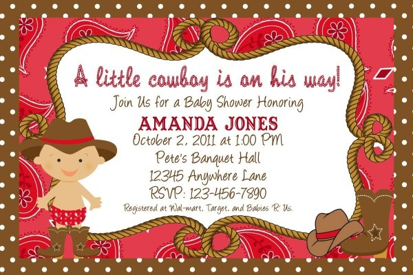 How To Make Baby Shower Announcement