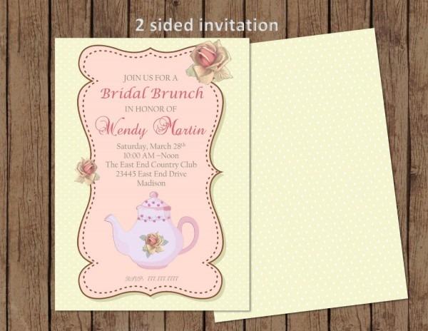 Diy Printable Bridal Brunch