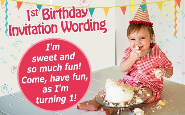 Probably Outrageous Favorite 1 Year Birthday Invitation Card