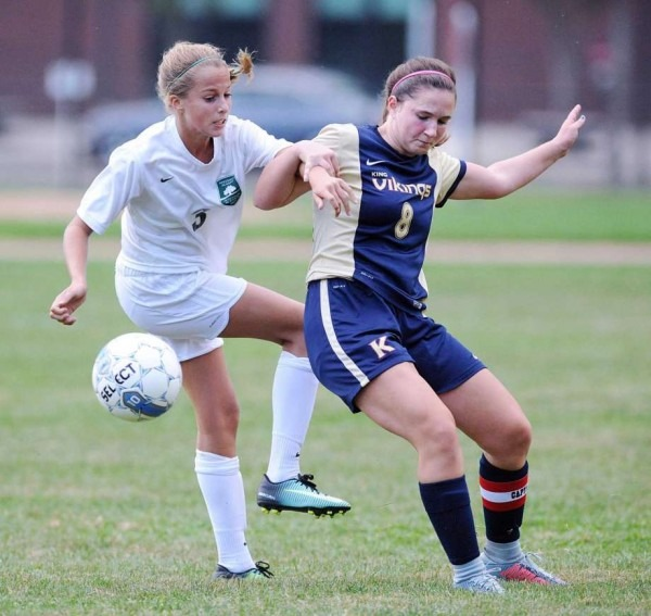 Greenwich Academy, Sacred Heart Soccer Players Honored