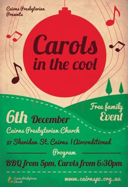 Carols Service Ad (used A Template)