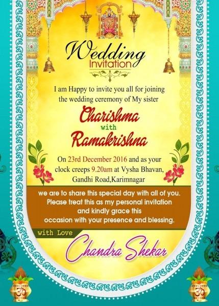 Wedding Invitation Templates Uk Editable Indian Free Download Cute