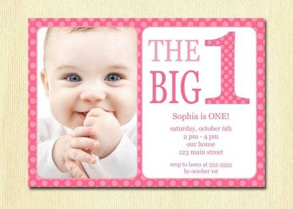 Baby Birthday Invitations Onwe Bioinnovate Fullxfull Dzqk Year