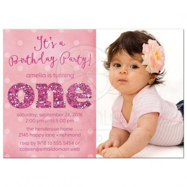 Things I Wish Knew About Baby Girl First Birthday Wording