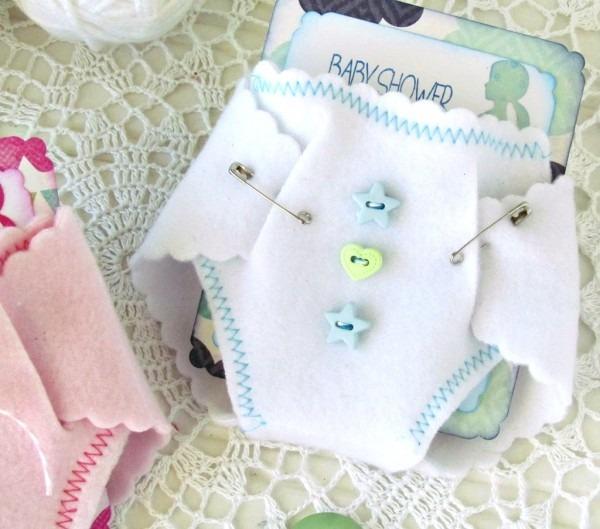 Baby Shower Diaper Invitations