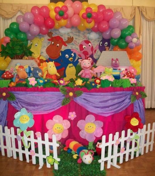 Backyardigans Birthday Party Ideas