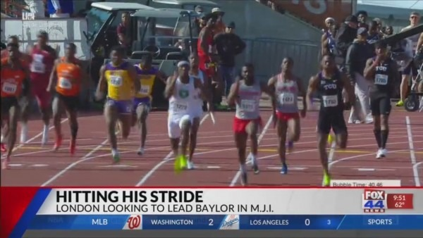 Baylor Track Ready For Michael Johnson Invitational