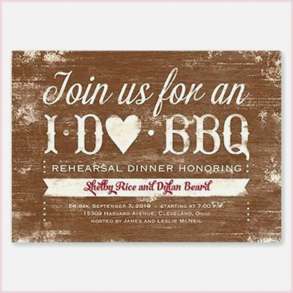 Bbq Wedding Invitations Elegant Wedding Bbq Invitation I Do