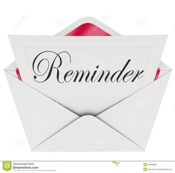 Birthday Invitation Reminder Message Reminder Word Note Message