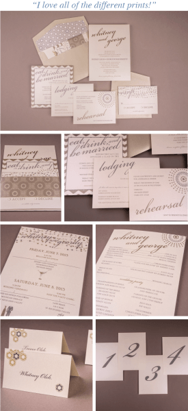 Photo Wedding Invitations – Ann Elizabeth