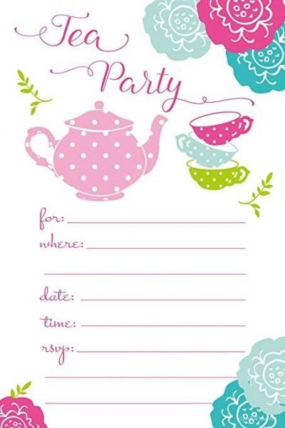 Bqowkftal Sy Fancy Invitations Tea Party