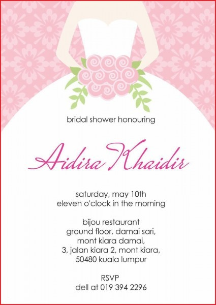 Best Bridal Shower Invitation Templates Photos Of Shower