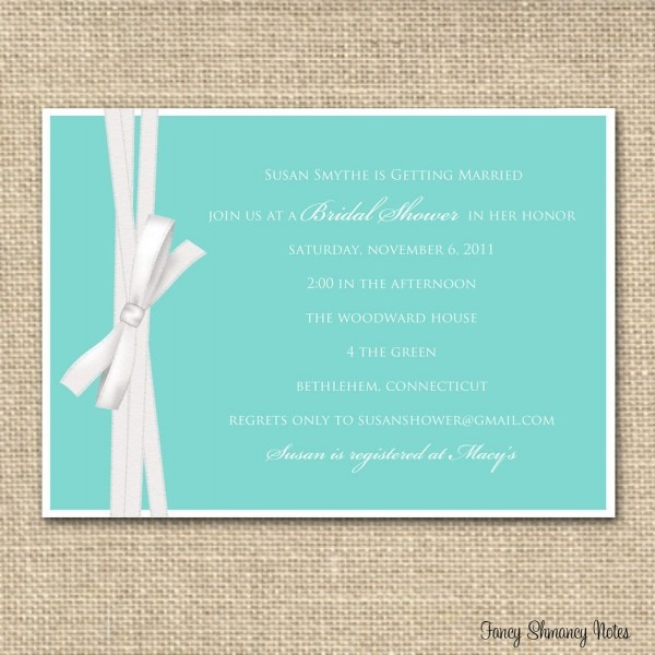 25 Images Of Bridal Luncheon Invitations Template