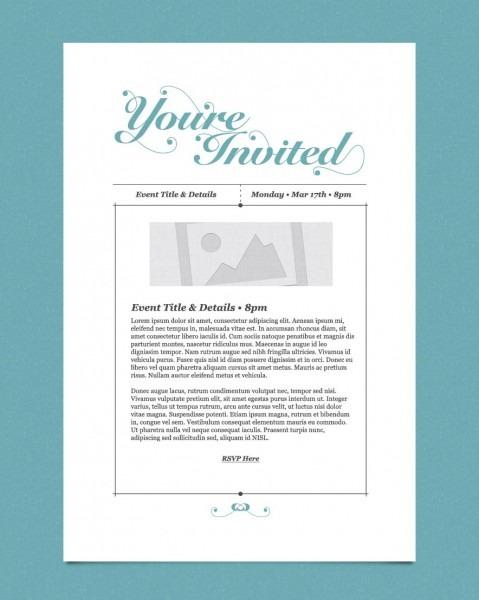 Business Open House Invitation Template 5 – Elsik Blue Cetane