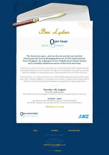 Business Open House Invitation Template 8 – Elsik Blue Cetane