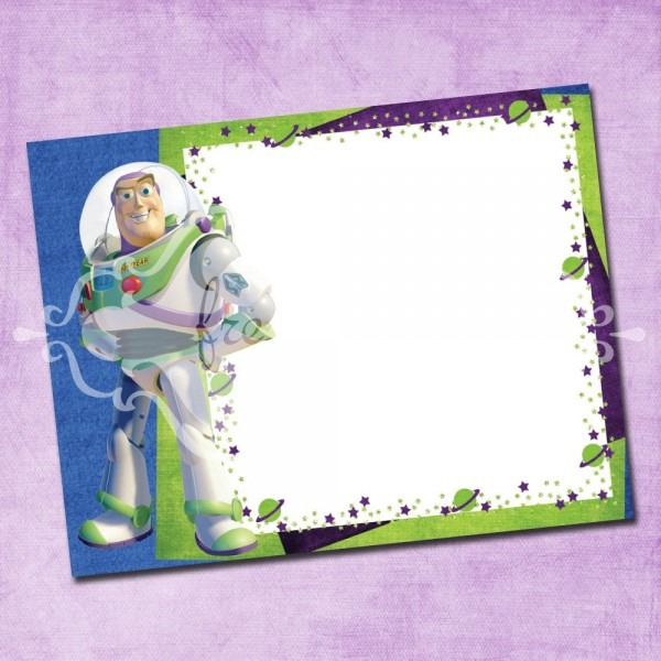 Buzz Lightyear Invitation Template