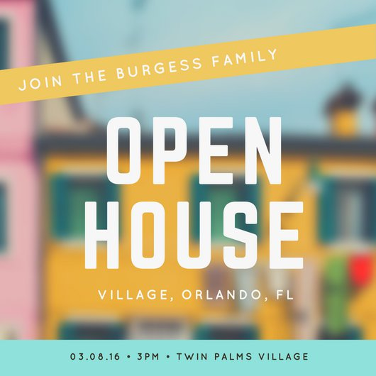 Open House Flyer Examples For Wedding Venues