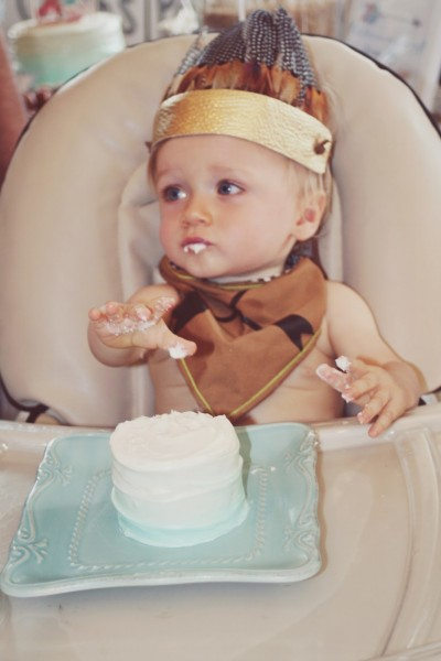 Tessa Rayanne  Cash Is One  Cowboys & Indians 1st Birthday Party