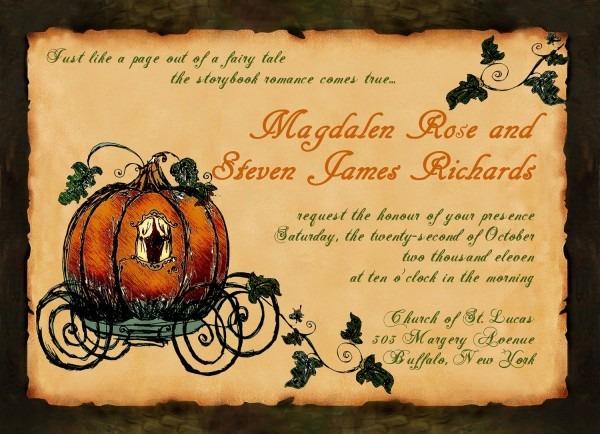 Pumpkin Inspired Fall Wedding Inspiration!