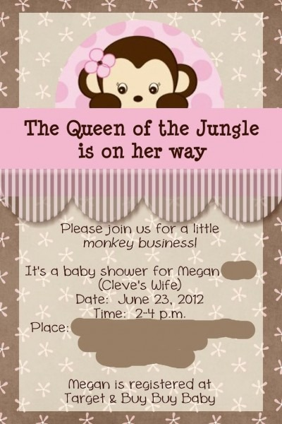 116 Best Beth's Baby Shower Images On Best Party Invitation Collection