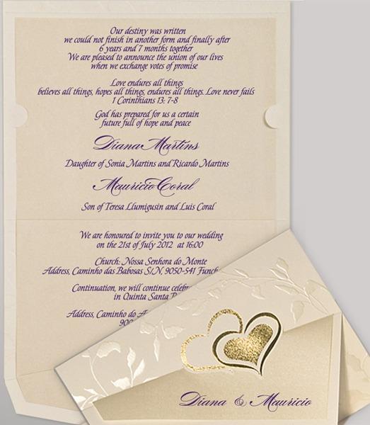 Wedding Invitation Template Christian Wedding Invitation Wording