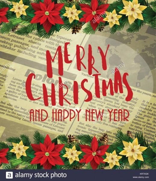 Christmas Party Invitation,design Template Stock Vector Art