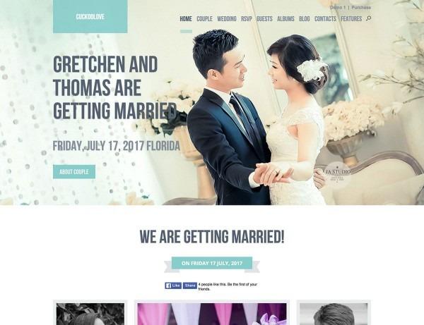 35 Best Wedding Wordpress Themes 2019