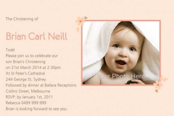 Darling Angel Postcard In Champagne Invitation