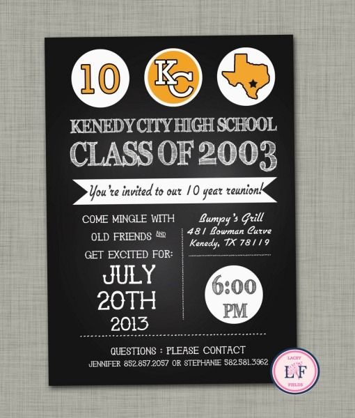 High+school+reunion+invitation+printable++family+by+laceyfields,+$