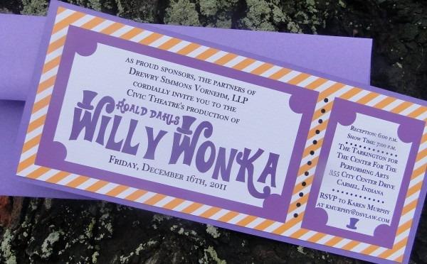 Madeline Lewis  Willi Wonka Invites