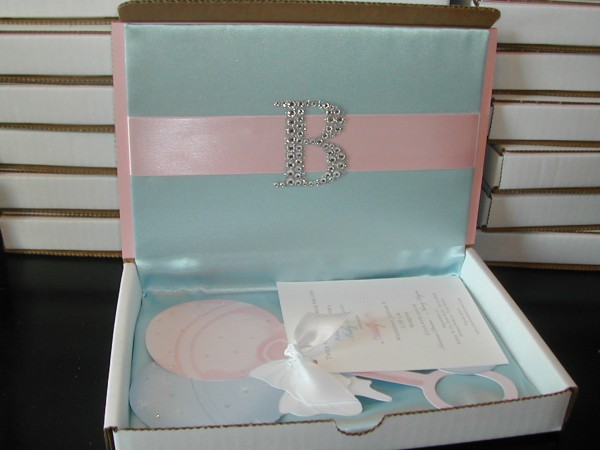 Baby Shower Invitation For Twins