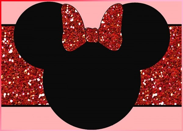 Minnie Mouse Invitation Design