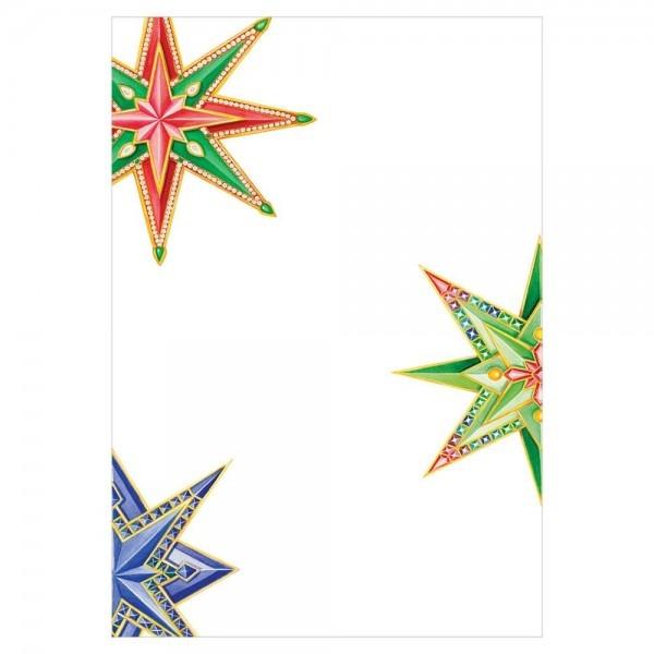 Jeweled Stars Invitations