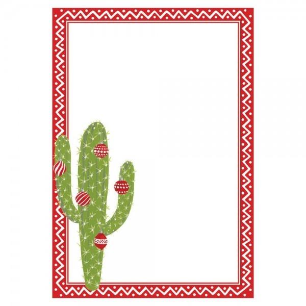 Merry Cactus Invitations