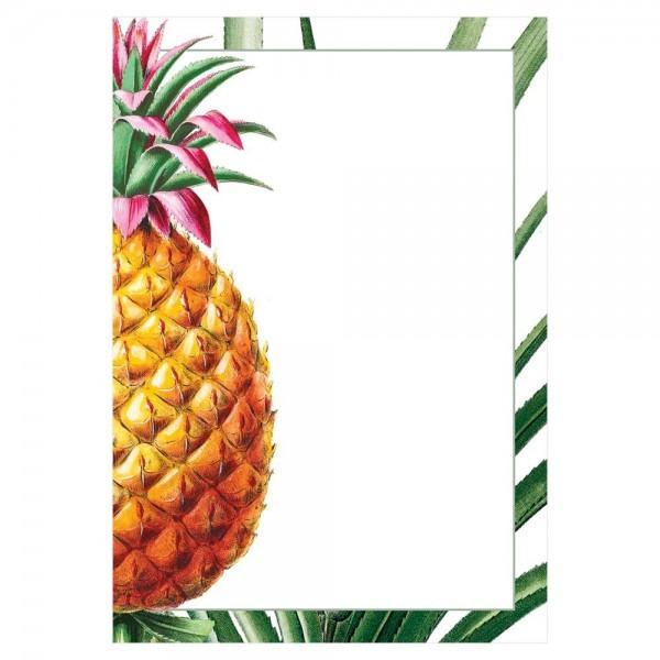 Tropical Fruit Invitations