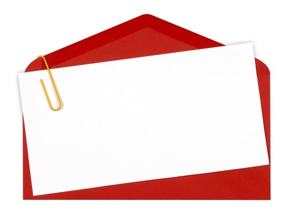 Blank Invitation, Envelope Backgrounds For Powerpoint